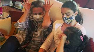 Soha Ali Khan encourages everyone to 'Wear a mask', with a cute picture of Sharmila Tagore and Inaaya; see picture!