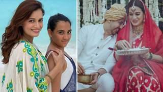 Dia Mirza celebrates stepdaughter Samaira's birthday with husband Vaibhav Rekhi & his ex wife: Video