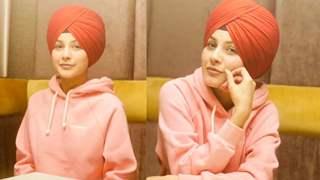 Bigg Boss 13's Shehnaaz Gill has fans gushing over her bangs post the turban look