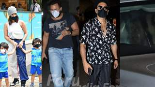 SRK,Saif, Ranveer, Sunny: What were these celebs doing around the town?
