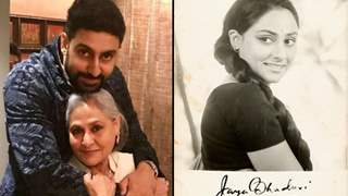 "Abhishek shares a stunning throwback picture on mom Jaya Bachchan's birthday; Navya says, ""Stealing This"""