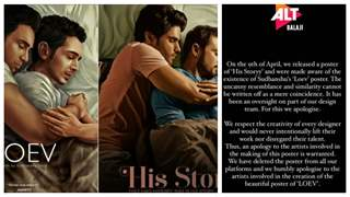 Alt Balaji finally issues statement on plagiarism allegations of 'His Story' against 'LOEV'