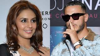 Hearts being exchanged between Huma Qureshi and DJ Snake!
