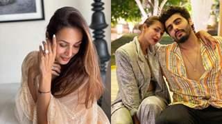 Malaika Arora flaunting her diamond ring sparks engagement rumours with beau Arjun Kapoor