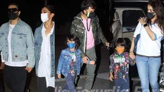 Deepika-Ranveer, Riteish-Genelia with sons spotted leaving Mumbai: Rising Covid is the reason?