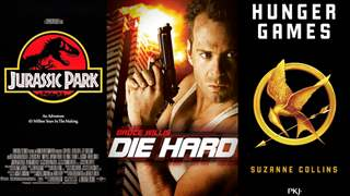 Die Hard to Jurrasic Park; Here's why 'Action Films' based on Books are a good choice!