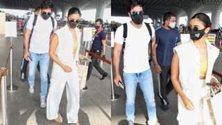 Ranbir Kapoor and Alia Bhatt jet off for a romantic getaway in the Maldives; see pics!