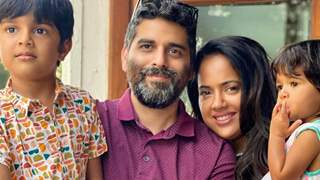 Sameera Reddy, husband & kids Hans and Nyra test positive for Covid-19: 'I did feel complete panic'