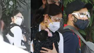 Anushka gives death stare; Vamika clings to mommy; Netizens slam the actress