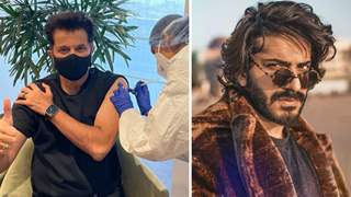 Harshvardhan's reaction as Dad Anil Kapoor takes Covid Vaccine will leave you in splits