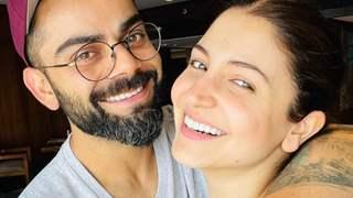 Anushka Sharma and Virat Kohli flash their charming smile in a new romantic selfie after returning to Mumbai