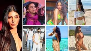 'Height of vulgarity': Shobhaa De & Shruti Haasan Slam B Town as Alia, Janhvi, Sara enjoy Maldives vacay