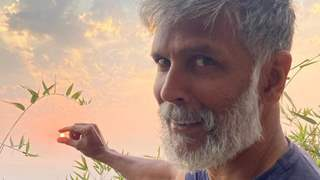 Covid recovered Milind Soman is 'back to social distancing' but this time in the wild! See post