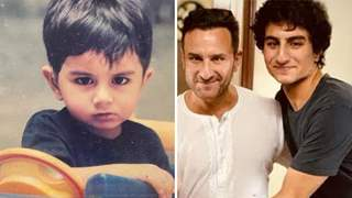 Baby picture of Ibrahim Ali Khan goes viral, Fans call him 'Copy of Saif'