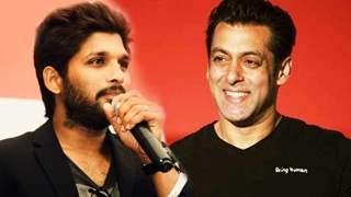 Allu Arjun reacts to Salman Khan's message; Calls his gesture sweet