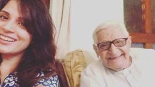 Richa Chadha bids goodbye to Ali Fazal's Nana in emotional note: See Post