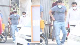 Saif Ali Khan arrives for the second jab of the Covid-19 vaccine; see pictures