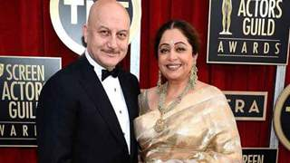 """Anupam Kher updates on wife Kirron Kher's health after blood cancer diagnosis; says """"Kirron is improving"""""""
