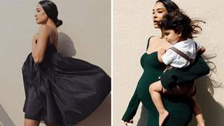 Ahead of third baby, Lisa Haydon flaunts baby bump in style; Shares dressing tips