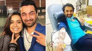 Pics: Shraddha Kapoor's brother Siddhanth donates plasma, Urge others to follow