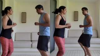 Aishwarya Sharma finds a workout partner in Neil, Says 'we gained together and losing together'