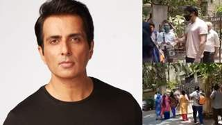 Sonu Sood listens to people gathered outside his home seeking help; assures aid amid Covid-19 crisis: See Video