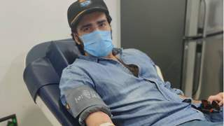 Avinash Tiwary donates blood before taking Covid vaccine; Sets example with his post