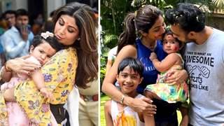 Shilpa Shetty's kids Samisha-Viaan, husband Raj & other family test Covid Positive