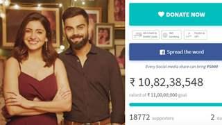Anushka-Virat receive massive 5 Crores donation, Increase COVID aid target to 11 Crores