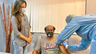 Rajinikanth receives second jab of Covid-19 vaccine, daughter Soundarya shares picture!