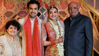 Kajal Aggarwal shares unseen wedding pic on parent's anniversary: See post