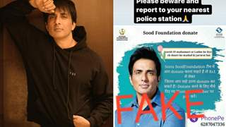 Sonu Sood urges netizens to report his 'Fake Profile' to the Police; spreads awareness of Imposters asking for Donations!