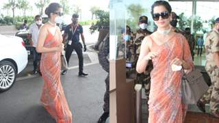 Kangana Ranaut leaves for her hometown - 'Manali', after recovering from Covid-19