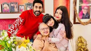 Aishwarya Rai Bachchan shares pics from her mother's 70th birthday celebration with Abhishek and Aaradhya
