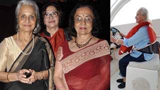 """Asha Parekh """"was very upset"""" on her vacation pics with Waheeda Rehman and Helen going viral…"""