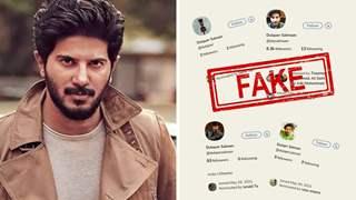 "Dulquer Salmaan slams fake social media profiles made in his name: ""Not Cool"""
