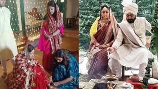 Inside Yami Gautam and Aditya Dhar's intimate wedding rituals with family; see pics!