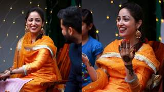 Newlywed Yami Gautam shares dreamy Unseen pictures from her 'Mehendi ceremony'