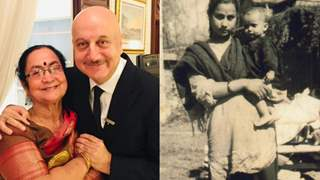 Anupam Kher showers love over mom Dulari on her birthday with unseen throwback pictures and a touching note!
