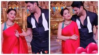 Sidharth Shukla romances Madhuri Dixit on the sets of Dance Deewane
