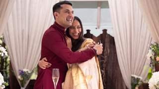 Pics: Danish Sait gets married to fiance Anya Rangaswami in intimate ceremony