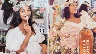 Pics: Inside Lisa Haydon's baby shower: Themed with flowers, cake, wine