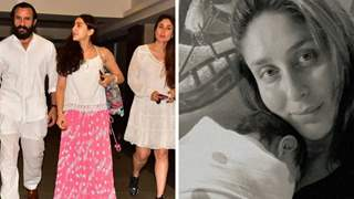 """Sara Ali Khan reveals meeting Saif-Kareena's new baby first time: """"He smiled at me, I just melted"""""""