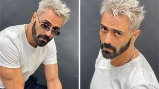 Pics: Arjun Rampal looks unrecognisable in his platinum blonde look; Reveals reason for new look