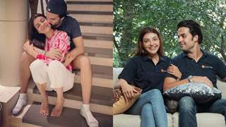 """Kajal Aggarwal's hubby Gautam Kitchlu shares """"30 pictures that sum up 300,000+ happy memories"""" on her B'day!"""