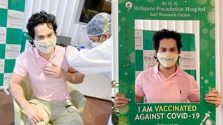 """Varun Dhawan takes the first jab of the COVID-19 vaccine; says, """"Don't be a prick, go get the prick"""""""