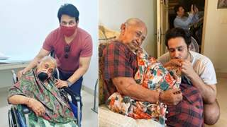 """Video: Shekhar Suman immerses his mother's ashes, bids final farewell: """"Tears in my eyes will never dry up Ma"""""""