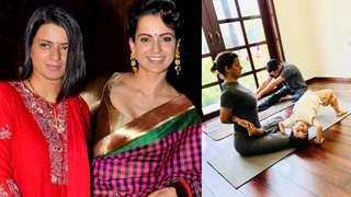 Kangana Ranaut recalls sister Rangoli's horrific acid attack story; shares how yoga helped her overcome trauma