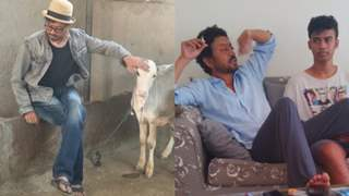 Photos: Babil Khan remembers late father Irrfan Khan with unmissable BTS pictures from 'Angrezi Medium'