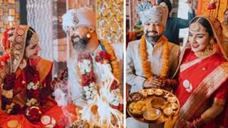 Angira Dhar gets married to Anand Tiwari, share wedding pics